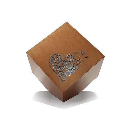 Artystyczna geometryczna urna kremacyjna