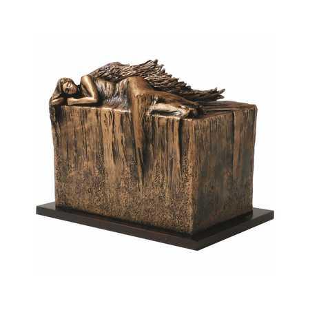 Artystyczna urna kremacyjna ANIOŁ